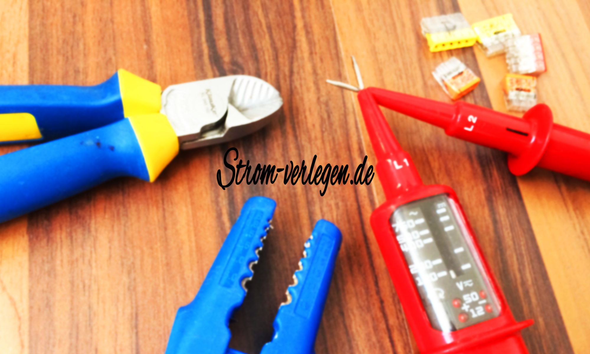 Simple DIY Strom verlege Anleitungen